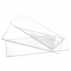 Microscope Slides, 76 x 25mm, Plain, 0.8 - 1.0mm, Interleaved, 50/box
