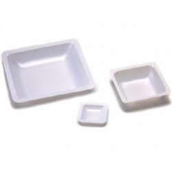 Weigh boats, 100mL, 2.20g, 80 x 80x 24mm-250/pkt