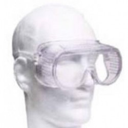 Safety Goggles, polycarbonate with direct ventilation suitable for PC2 work