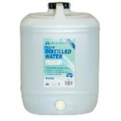Distilled Water, UV sterile, 10L bottle