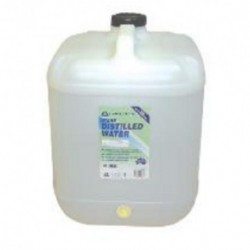 Distilled Water, UV sterile, 20L bottle