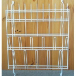 Mettapp-Glassware Draining Rack, Wall Mounted, Size: 570 x 600mm.
