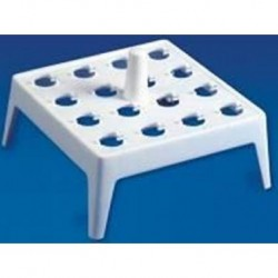 Floating water bath rack, 16 place for 1.5/2.0 ml tubes