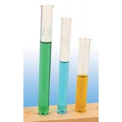 Test tubes, borosilicate glass, rimmed, 18 x 150mm-25/box