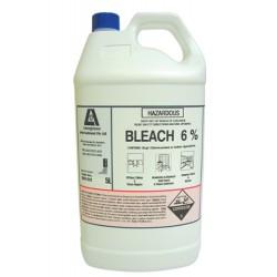 Bleach, 6% Hypochlorite- 5 Litres