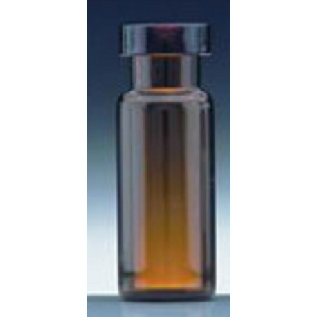 Alltech-2.0mL LO (Large Opening) Amber Vial, 12x32mm, 11mm Crimp-pkt/100
