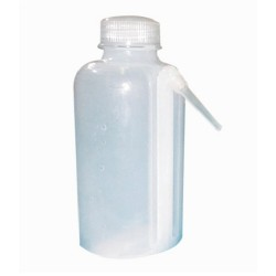 Wash Bottle-Polypropylene, fixed jet type-125mL