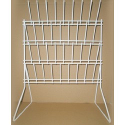 Metapp Glassware Draining Rack– Bench Mounting. Size: 360x500mm.