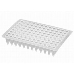 Axygen 96 well PCR plates 100Microliter non-skirted Low Profile-pkt/100-