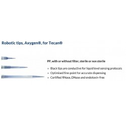 Axygen 1-200ul Filtered Conductive Robotic Tips to suit CAS-1200 Sterile,(box 24 x 96), Replaces COR-0217