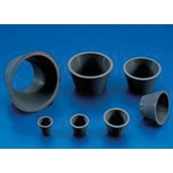 Buchner Funnel Adapters Rubber for use with filter funnels-7 gaskets