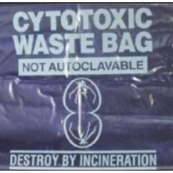 Sterihealth-Cytotoxic waste bags, 240L,  purple, 100 µm, Roll-100/ctn