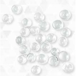 Beads, Solid Glass, Round