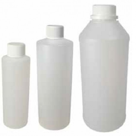 Plastic HDPE Bottles, Round