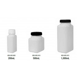 Plastic HDPE Bottles, Square