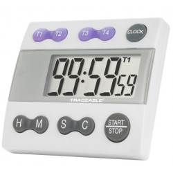 Control Company Traceable® Four-Channel Alarm Timer
