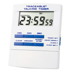 Control Company Traceable® Talking Timer