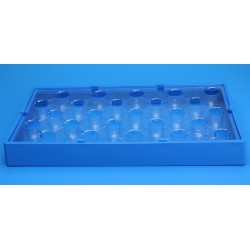 FINNERAN-25 Position Insert Tray for Universal Vial Rack to Hold 15mm Vials, (Rack sold separately), pkt/5