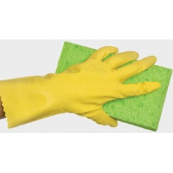 Bastion Flocklined Rubber Gloves