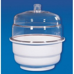 Desiccator, plain, transparent, 150mm d (POLYCARB)