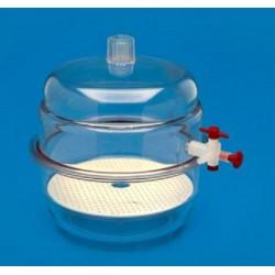 Technos Vacuum Desiccator, Polycarb, Transparent, Diam:150mm