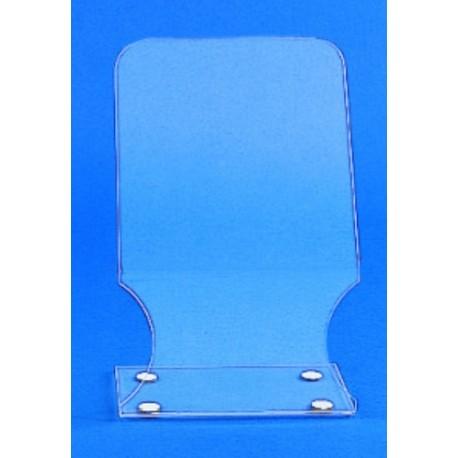 Kartell generlal safety shield, clear acrylic, portable