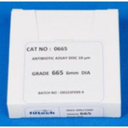 Filtech blotting paper, grade 665, 200x200mm, 0.83mm thick, suitable for DNA/RNA and protein gel transfer, pkt/50