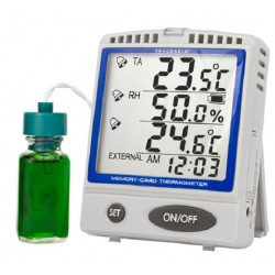 Control Company Memory-Card Refrigerator/Freezer Bottle Traceable Thermometer