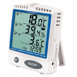 Cntrol Company Memory-Card Humidty Temperature Dew Point Traceable Thermometer