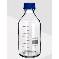 LABCO-Bottle Reagent Boro Clear 100mL, GL45 neck