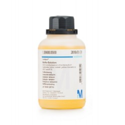Merk Certipur® Buffer Solution, pH 10, Coloured (Yellow), supplied with COA certificate, 500ml
