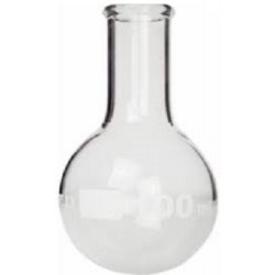 TECHNOS Round bottom boiling flask, 3.3 borosilicate glass