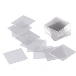 Cover Slips 22mm x 22mm x 0.4mm thick for use with Neubauer counting chamber-10 / per box
