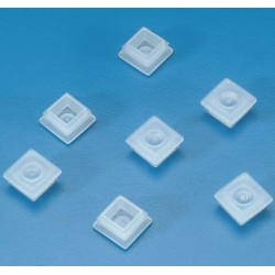 Kartell PE stopper caps for closing cuvettes with square openings (10 x 10 mm), pkt/100