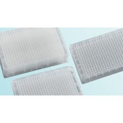 Porvair 384 Square Well Polypropylene Porvair Shallow & Medium Height Storage Plates.