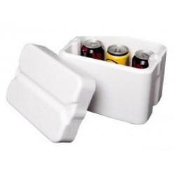Foamex Foam Cooler Box with Lid, 5L, each