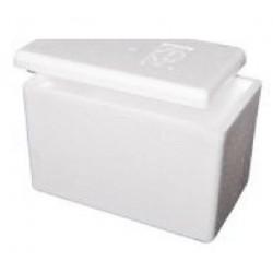 Foamex Foam Cooler Box with Lid, 13L, each