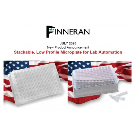 Finneran Stackable, Low Profile Microplate for Lab Automation