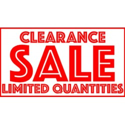 Adelab's October 2018 Store Clearance Specials