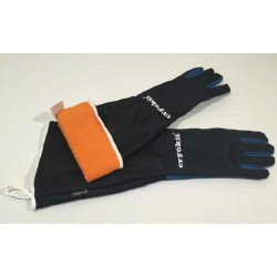CRYOKIT400-550-Cryogenic & Heat protection gloves, Small, -200 ° C to 150 ° C, waterproof, mid arm style-per/pair