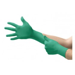 Ansell Nitrile Touch N PF Gloves, Large, Box/100