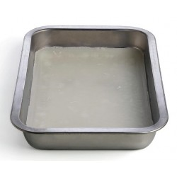Technos Aluminium Dissecting Dish /Tray with Wax, (330Lx230Wx70D)mm, each