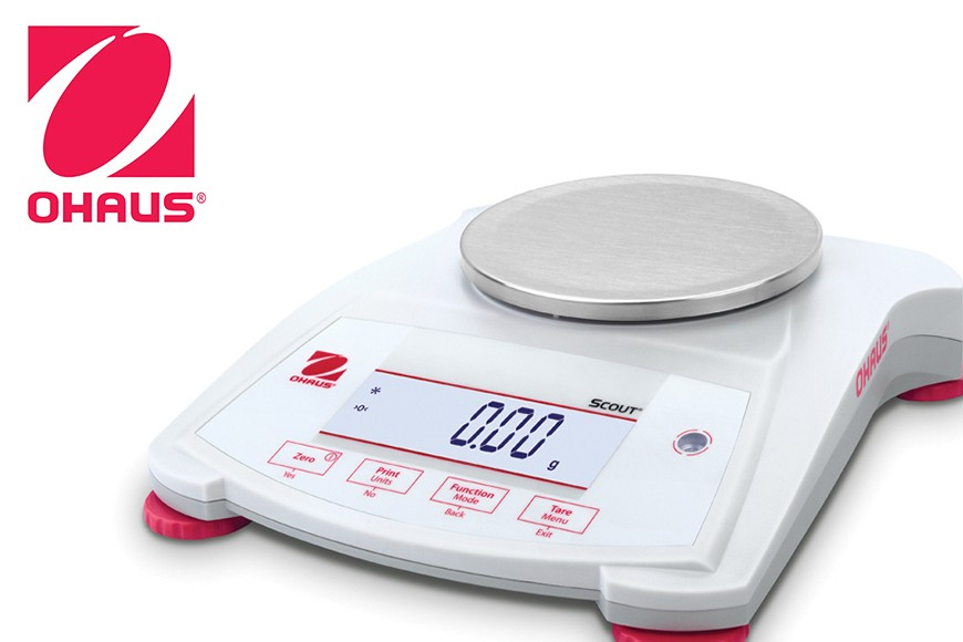 OHAUS release a new range of Scout model balances