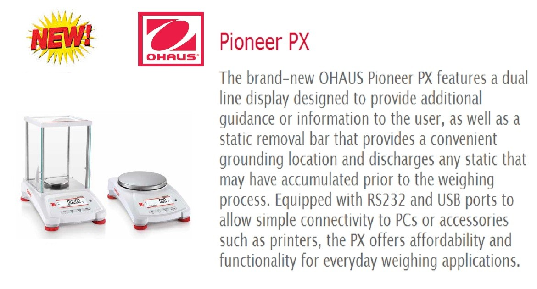 OHAUS New Pioneer Range