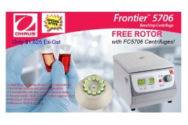 OHAUS FC5706 Centrifuge Special with Free Rotor!