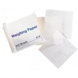 Glassine Weighing Paper, Nitrogen Free, Small, 7.5cm x 7.5cm-500/pkt