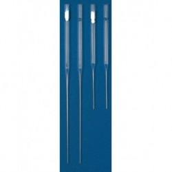 Universal 146mm Glass Pasteur Pipettes, cotton plugged  (pkt/250/ctn/1000)
