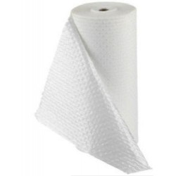 Kimberly Clark Bench Roll-3 ply tissue, 1-ply polyethylene, 41.5cm x 91 meters-2 rolls/pack