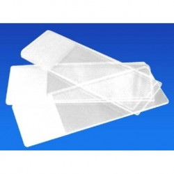 Microscope Slides, 76 x 25mm, Frosted 1 end 1 Side, 1.0 - 1.2mm, Interleaved, 50/box