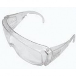 Safety Glasses, general purpose, vented, polycarbonate, impact resistant-pkt/10